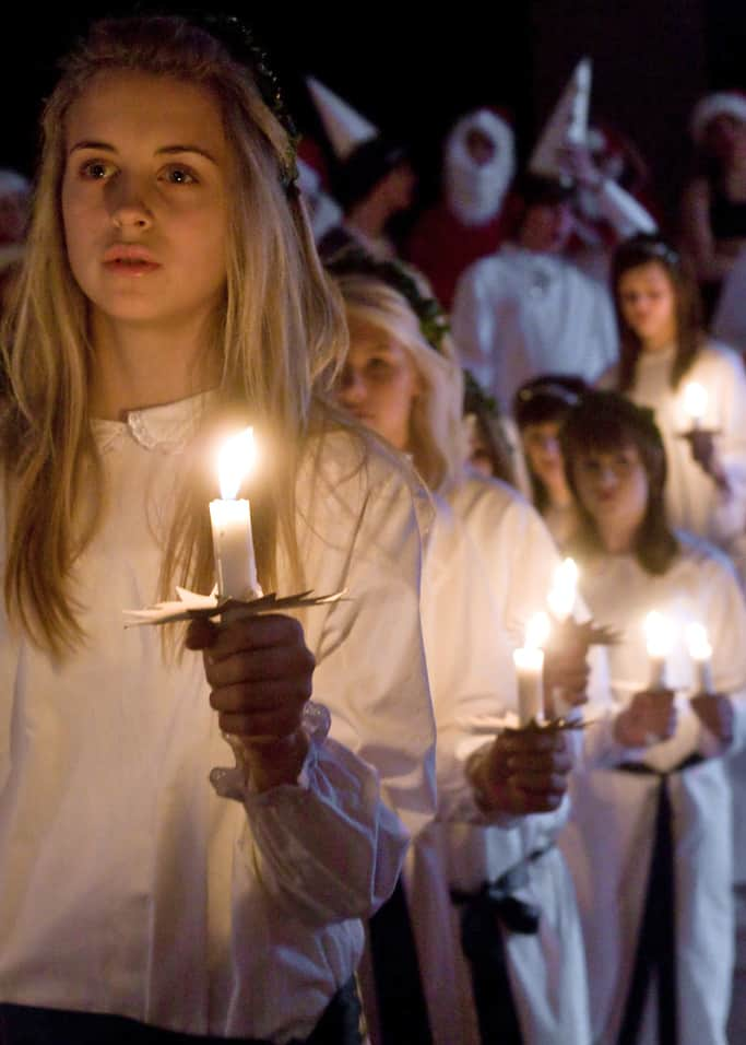 Lucia procession - Romeo & Julius am 10.9.: Bar-Night of Lights? o,O