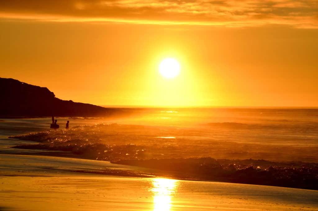 Sunset at Long Beach South Africa 1024x678 - Jungschwuppen Mittwochsclub am 8.9.: Herbst? Nie davon gehört...