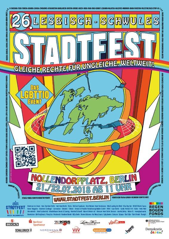 plakat gross - 21./22. Juli: Lesbisch-Schwules Stadtfest 2018