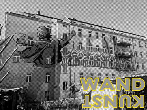wandkunst - Jungschwuppen Mittwochsclub am 16.5.: Farbe an der Wand